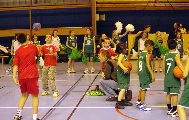 Seconde édition basket + handball, haut-niveau