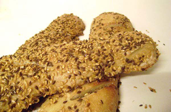 Baguettes aux Graines de Lin