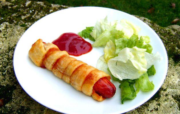 Saucisse Feuilletée - Le Hot-Dog Revisité