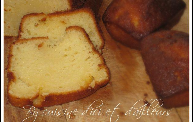 Cake fondant - moelleux au yaourt et au citron