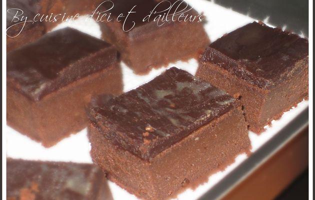 Fondant glacé au chocolat & mascarpone