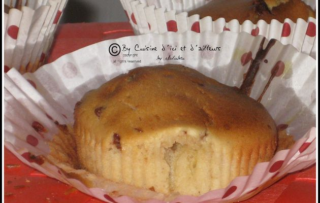 Muffins aux chocobons