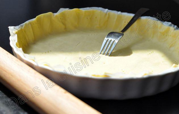 Tarte pommes caramélisées et caramel beurre salé