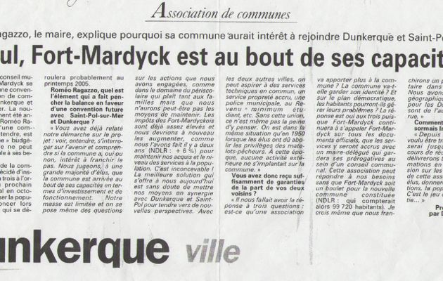 Lettre aux Fort-Mardyckois