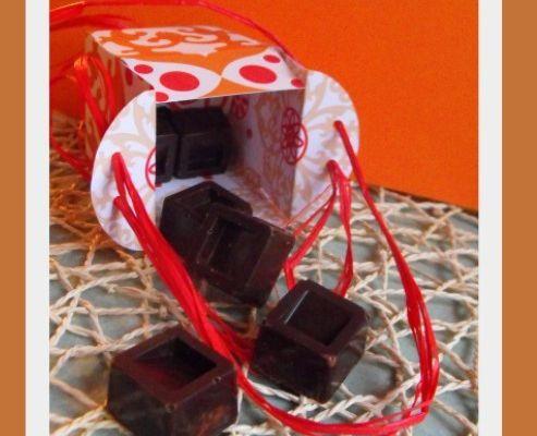 Chocolats praliné et crêpe dentelle