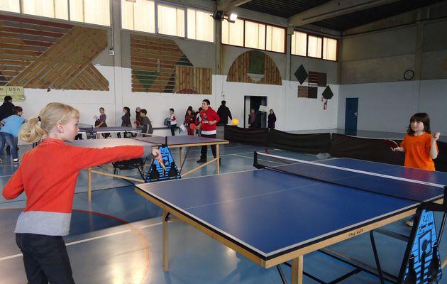 Le tournoi de ping-pong