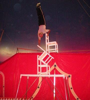 Notre sortie au cirque.