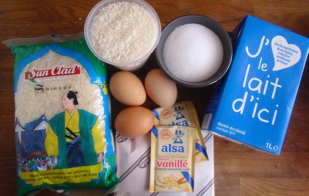 Riz au lait crémeux...sans crème