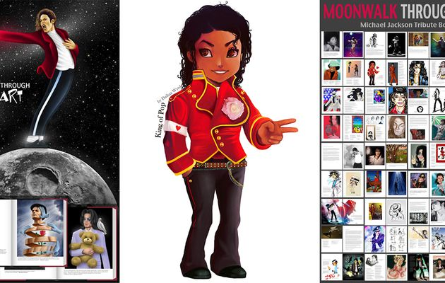 Moonwalk Through Art - Artbook pour la solidarité