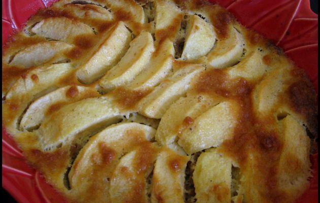 Clafoutis aux pommes et aux spéculoos