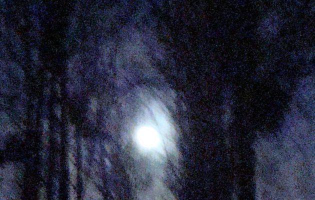 Nuit hantée.