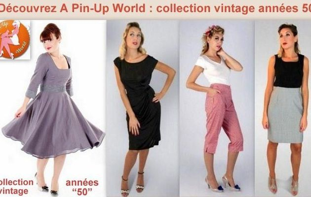 Collection des années 50 de A Pin-up World