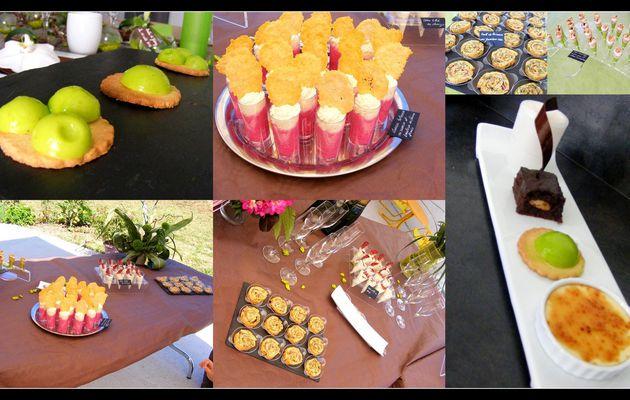 Idée de menu pour vos réceptions et décoration de table naturelle