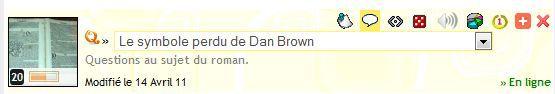 Quizz 132 : Le Symbole Perdu de Dan Brown