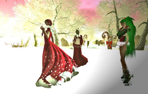 SnowVille la fermeture,avec Chloé et Taylor.