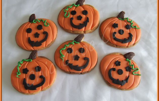 "Biscuits ""Si Trouille"" pour Halloween..."