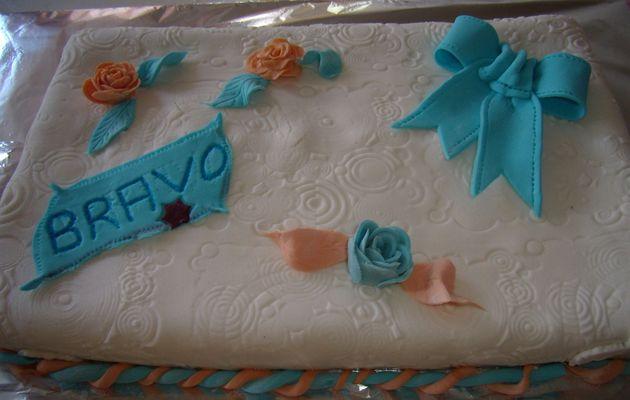 Vos réalisations : le gâteau de Kathy.......