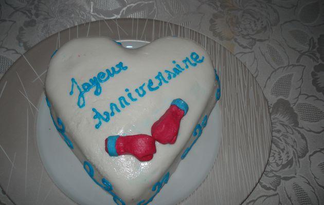 Vos réalisations : les gâteaux de Florence....