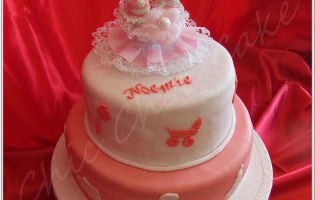 Un gâteau pour un baptème...