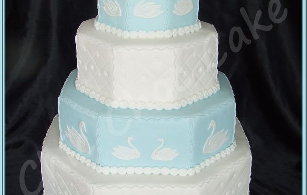 Wedding cake Cyana...