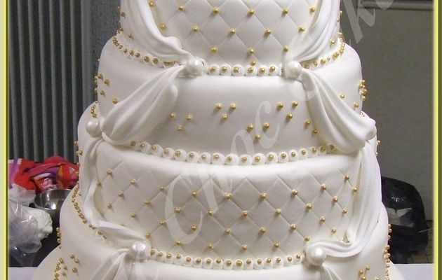 Wedding cake 6 étages...