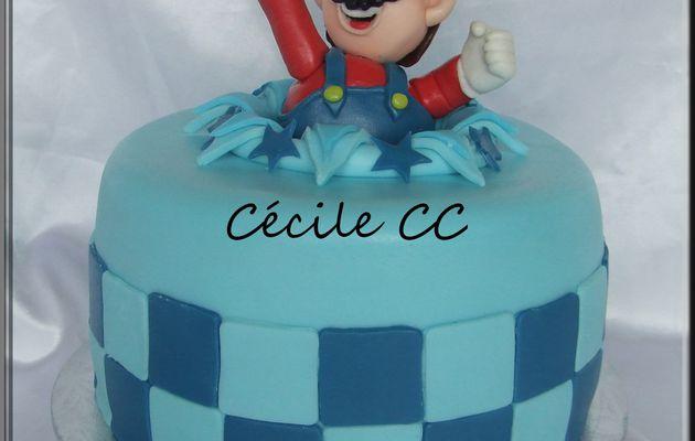 Gâteau Mario....