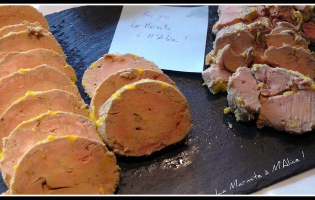 Foie Gras cuit à la Vapeur...