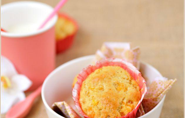 ☼ Muffins aux abricots poêlès ☼