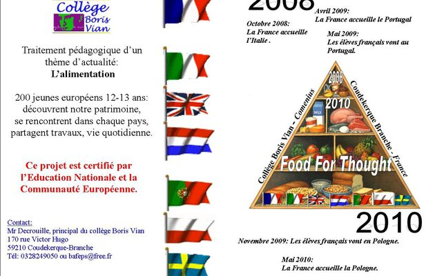 2008-2010 Alimentation Food for thought