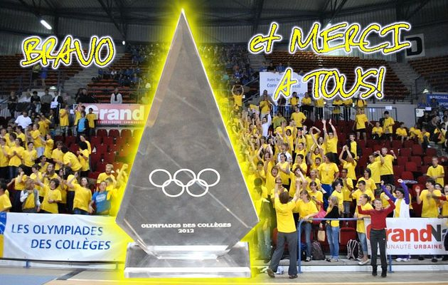 OLYMPIADES DES COLLEGES :CHAMPIONS !