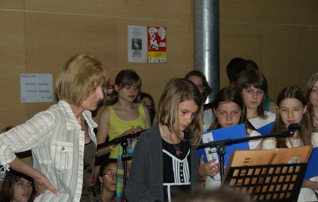 La chorale...Dernière représentation...