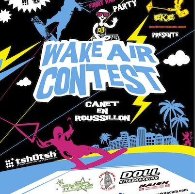 Wake Air Contest 2012 à Canet en roussillon