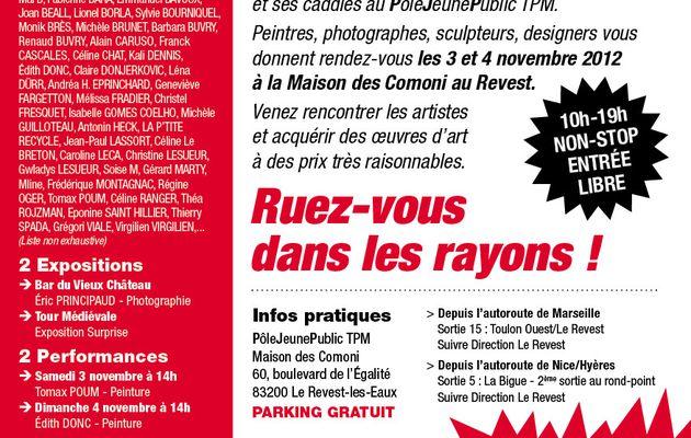 Supermarché de l'Art à Toulon, nov 2012