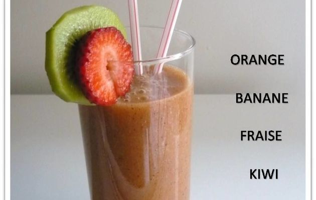Cocktail de fruits frais