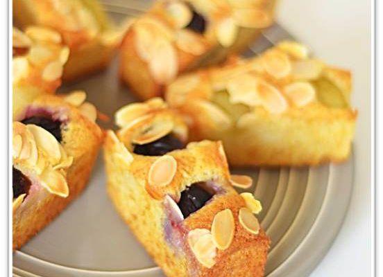 Minis cakes aux fruits et à l'huile d'olive