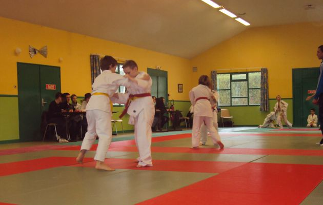 Rencontre inter-clubs du Judo Club de Sinceny le 04/04/2010