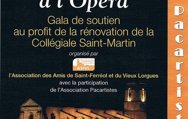 Vendredi 22 février, gala de soutien au profit de la rénovation de la Collégiale de Lorgues