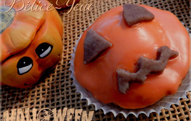 Les cupcakes Citrouilles {Halloween}