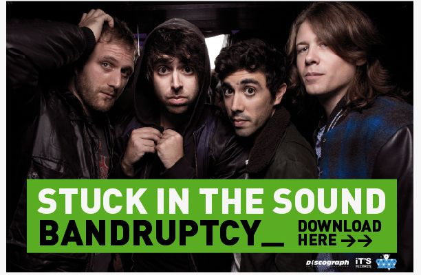 Stuck in the sound revient avec le single Bandruptcy !