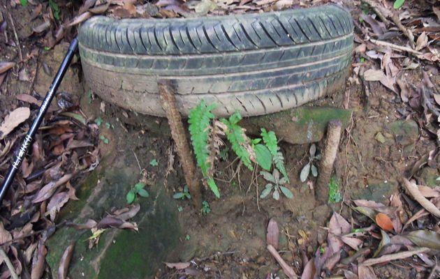 recyclage des pneus 報廢輪胎再利用