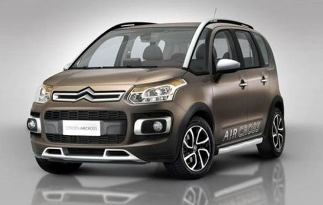 Citroën lance la production de la C3 Aircross au Brésil