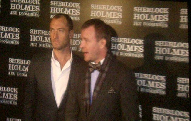 Sherlock Holmes 2 en avant première avec Jude...
