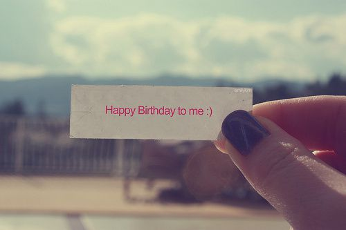 Today it's my Day