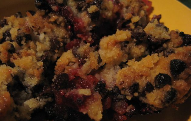 """CRUMBLE POMMES - FRAMBOISES """"COOK'IN"""""""