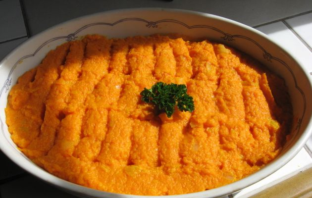 PUREE DE CAROTTES COOK'IN