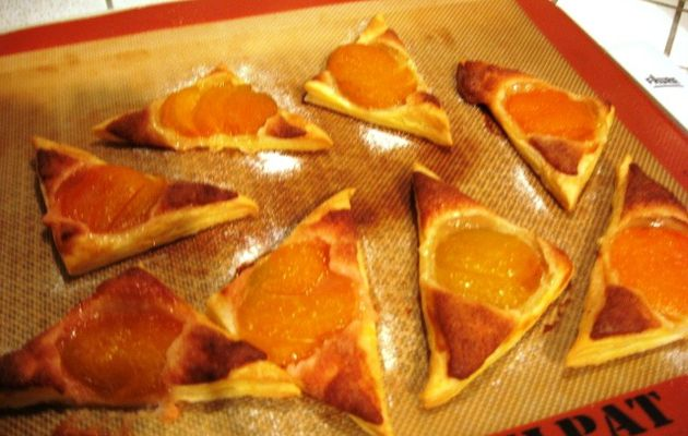 TRIANGLES AUX ABRICOTS