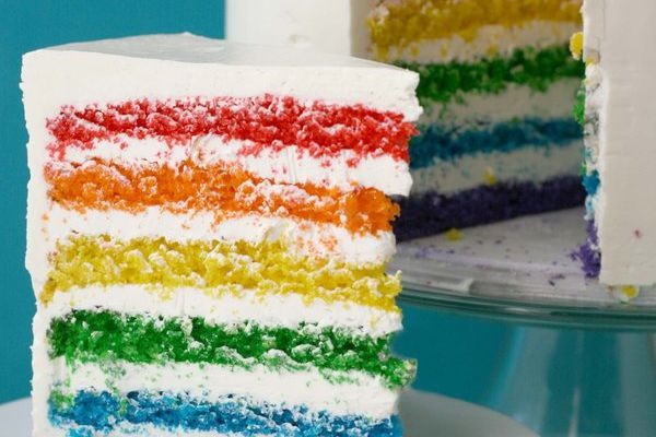 Do you want some RAINBOW CAKE ?