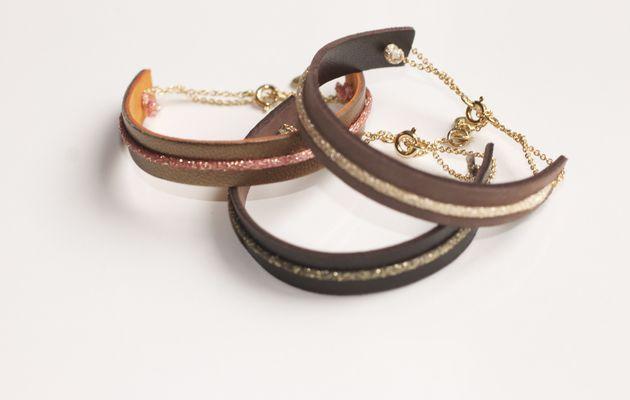Le tout Dernier de la collection : Le bracelet cuir Kobe by L'Atelier d'Olivia