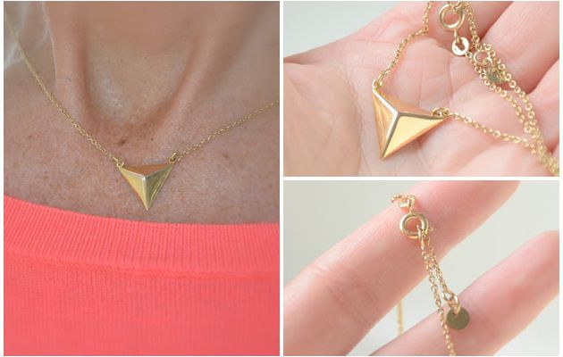 Collier Triangle à gagner !!!