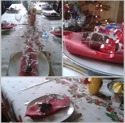 Deco de table noel cuisine d co by maria - Deco tables de noel ...
